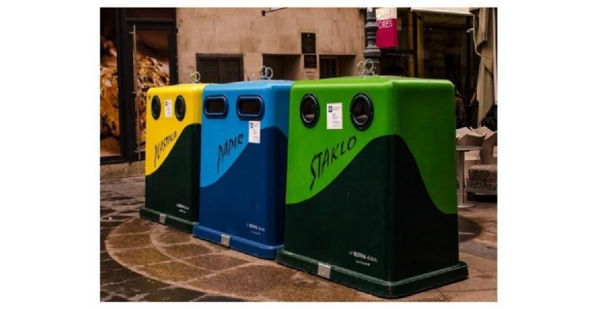 Reciclaje para cuidar el ambiente