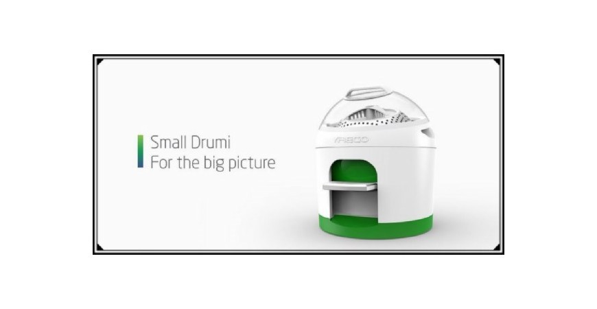 Drumi, la lavadora que funciona sin electricidad