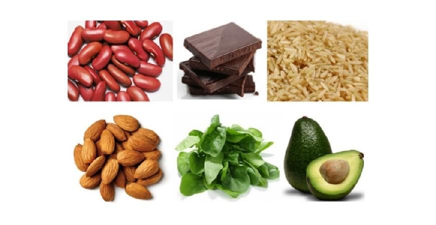 Qué alimentos tienen magnesio