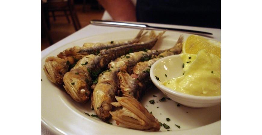 Recetas de anchoas fritas