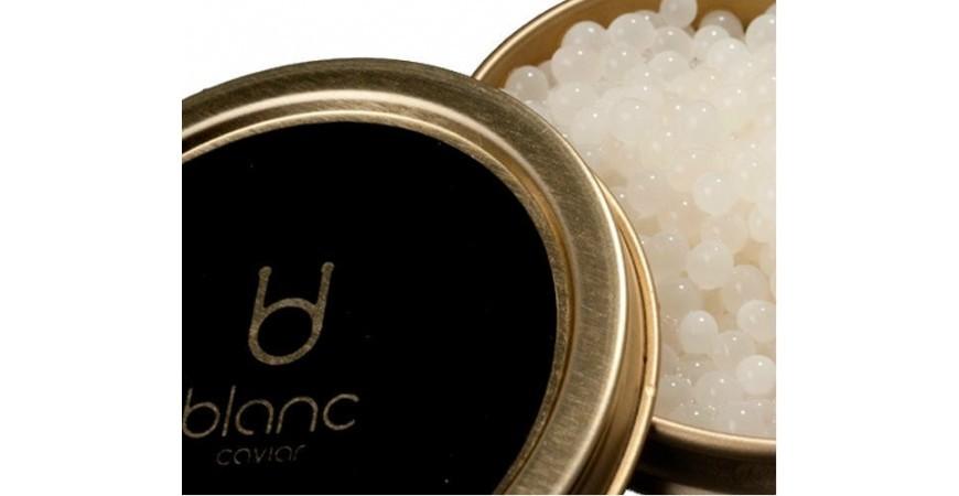 Qué es el caviar blanco