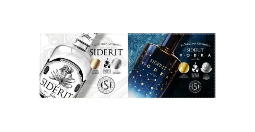 Ginebra y vodka Siderit