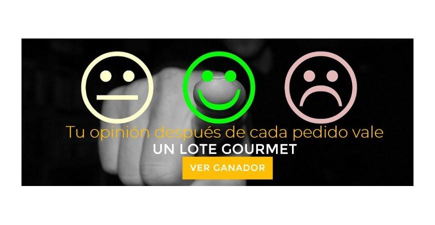 Sorteo Lote Gourmet Por Opiniones Abril 2019