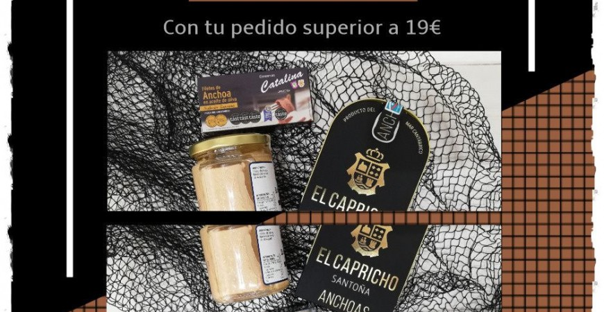 Sorteo 2 Packs de Anchoas en Febrero